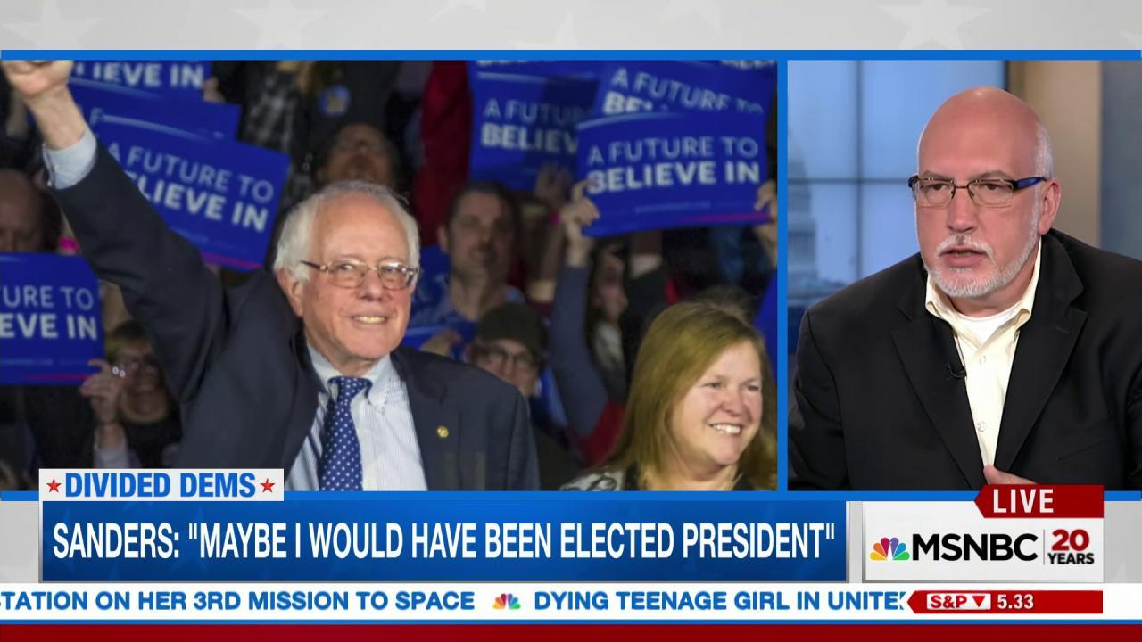 'Bernie Mafia': Sanders Supporters Look to Seize Democratic Party Initiative