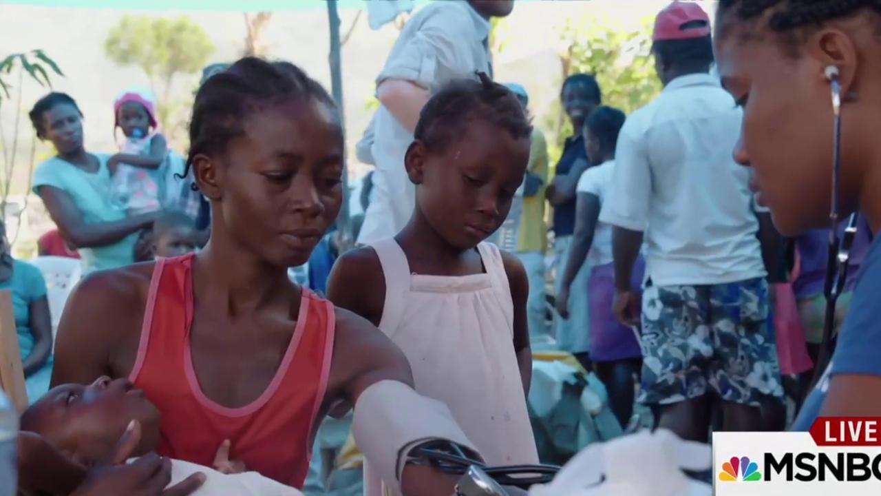Cholera outbreak rips through Haiti