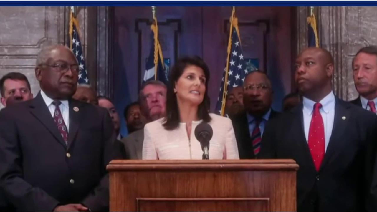 Haley joins Trump team as ambassador