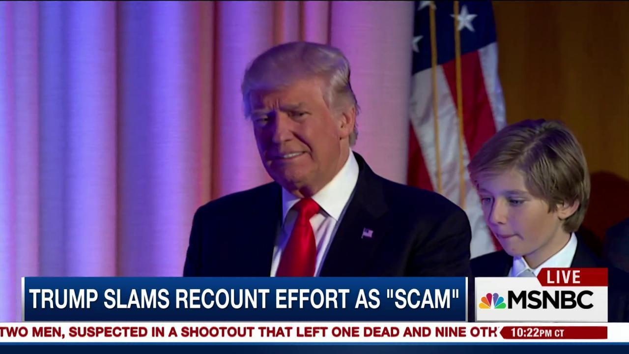 Will battleground state recounts make a...