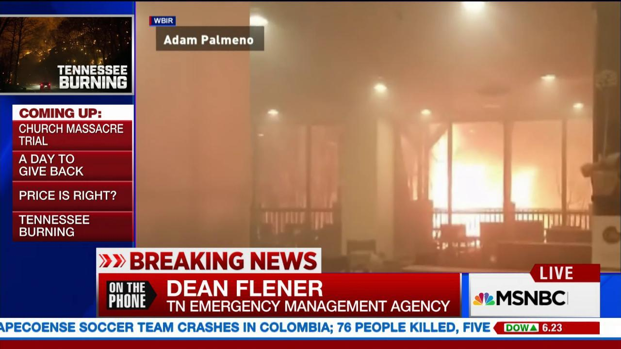 No fatalities reported in Tennessee fire