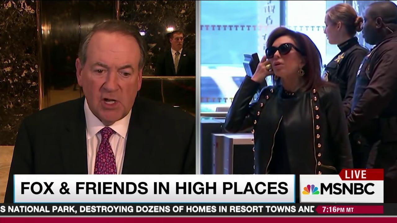 Fox News well represented in Trump lobby