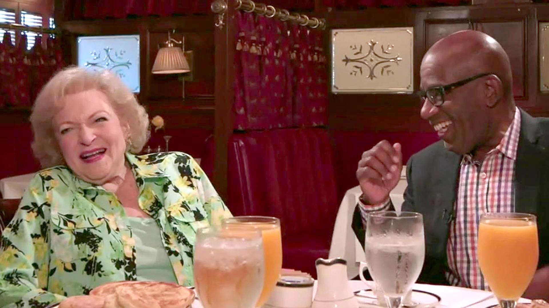 Betty White: 'There's so much to be thankful for' - TODAY.com