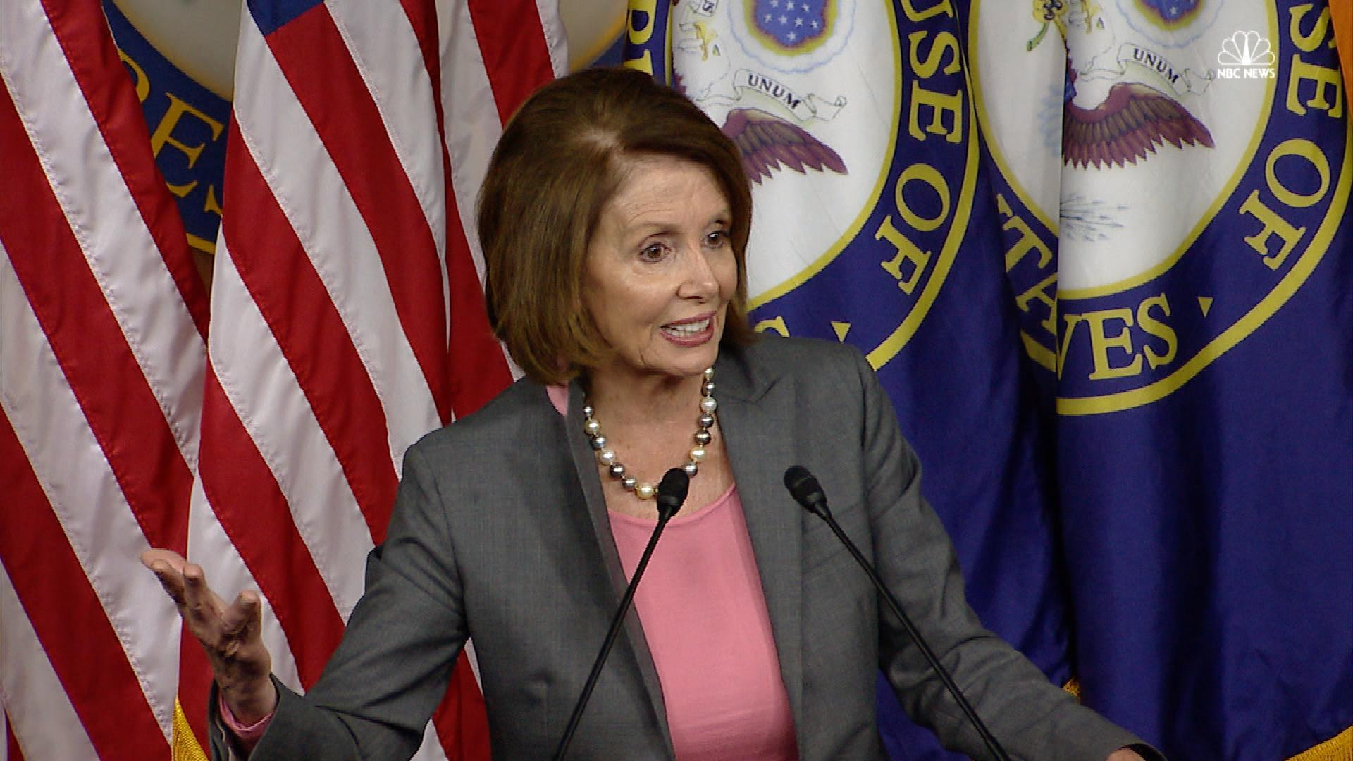 Pelosi Blames Comey Letter for Clinton Loss, Calling It A 'Foul Deed'