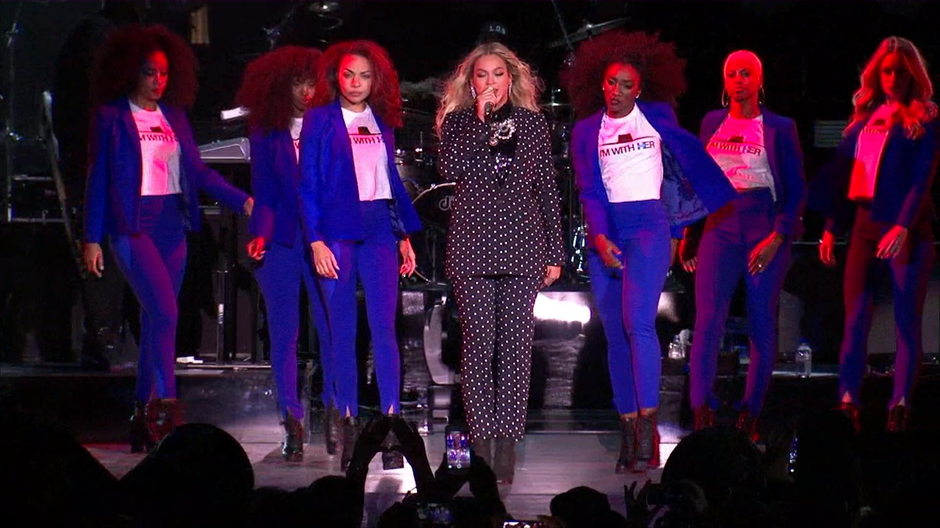 Beyonce In Formation For Hillary Clinton NBC News - Hillarys stage us map
