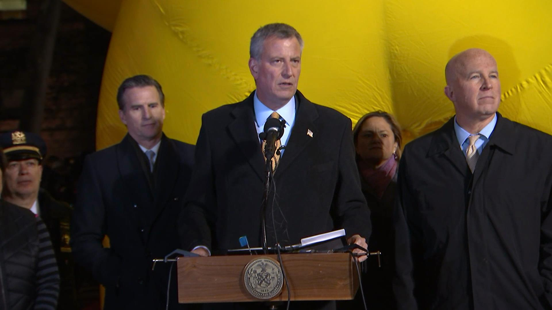 New york mayor no evidence of credible threat against parade nbc