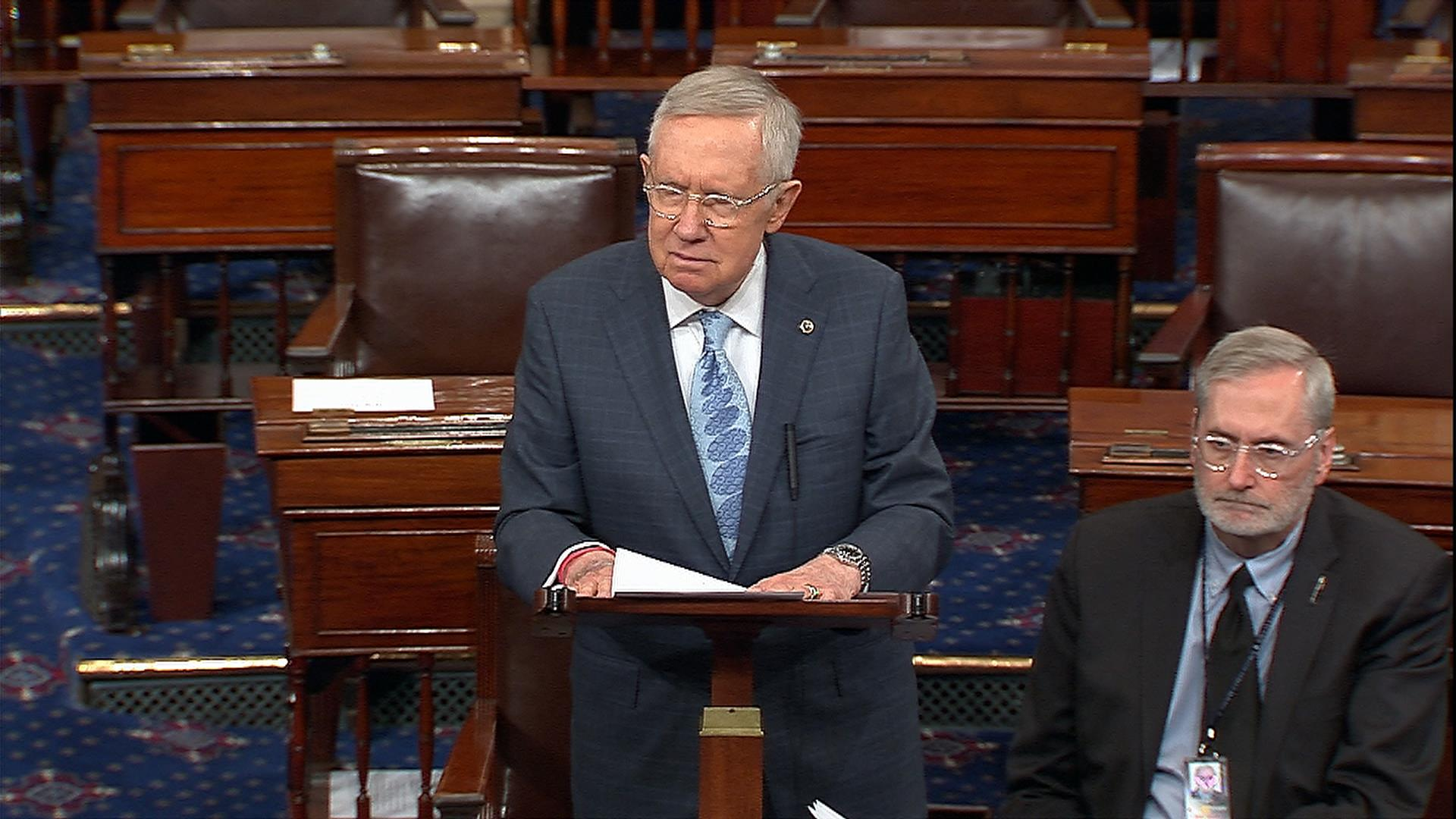 Sen. Reid To Trump: Rescind Bannon...