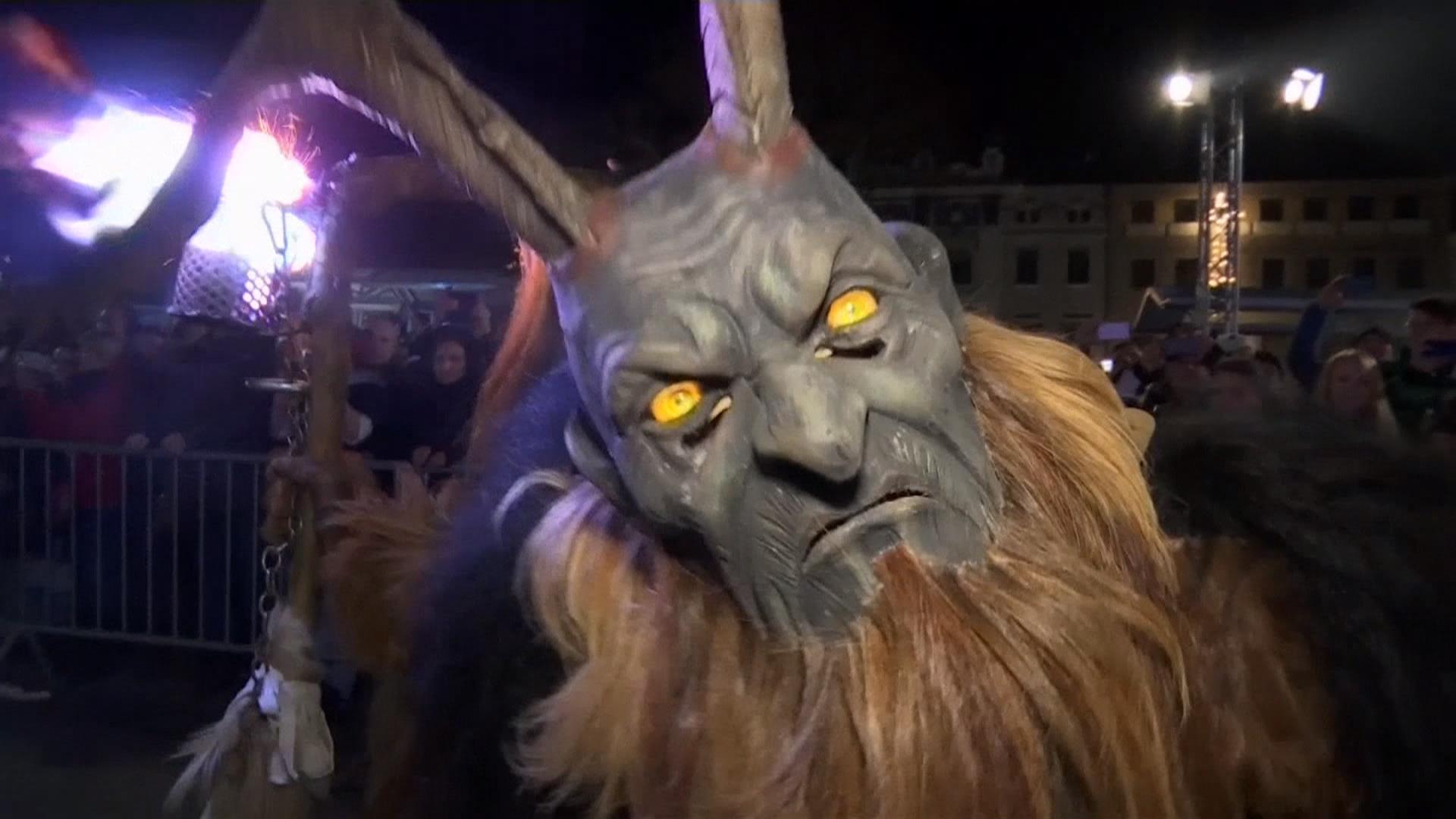 Krampus Festival is Austria\'s Nightmare Before Christmas