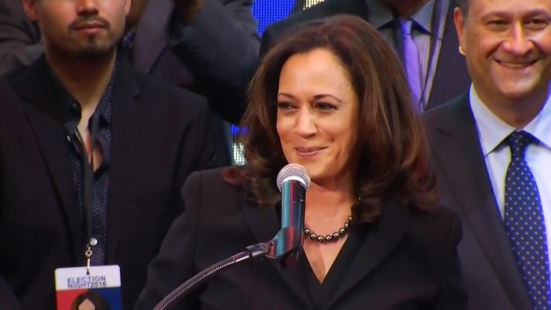 See California Senator Elect Kamala Harris Victory Speech
