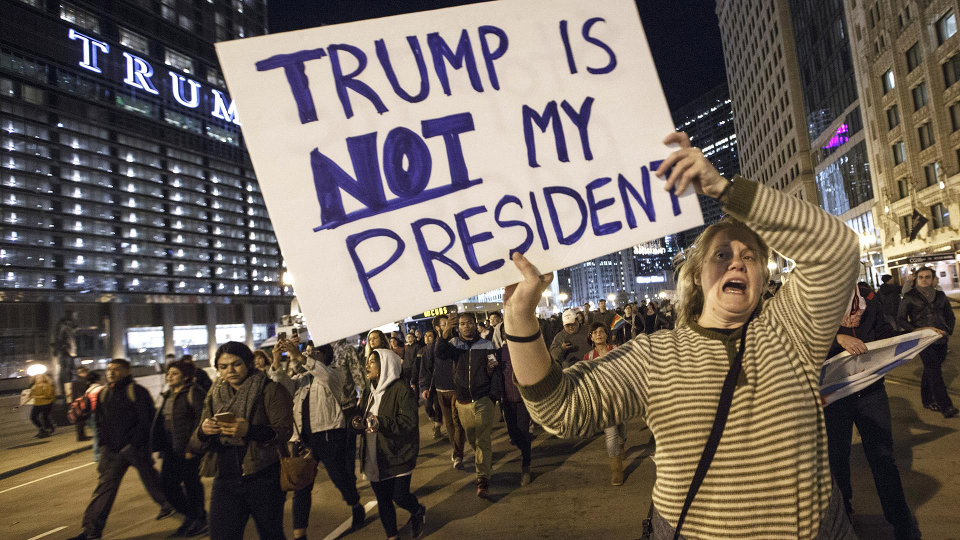 Nationwide Protests Continue as Obama and Trump Strike Conciliatory Tone