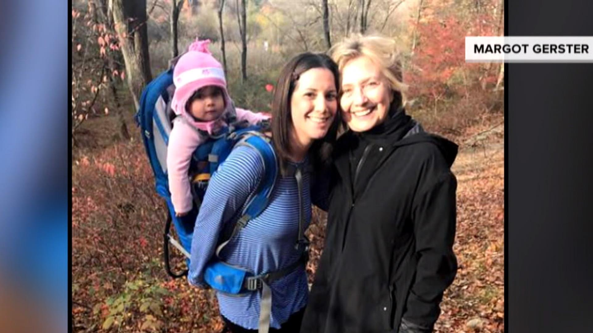 Woman 'Heartbroken' After the Election Runs Into Hillary Clinton While Hiking