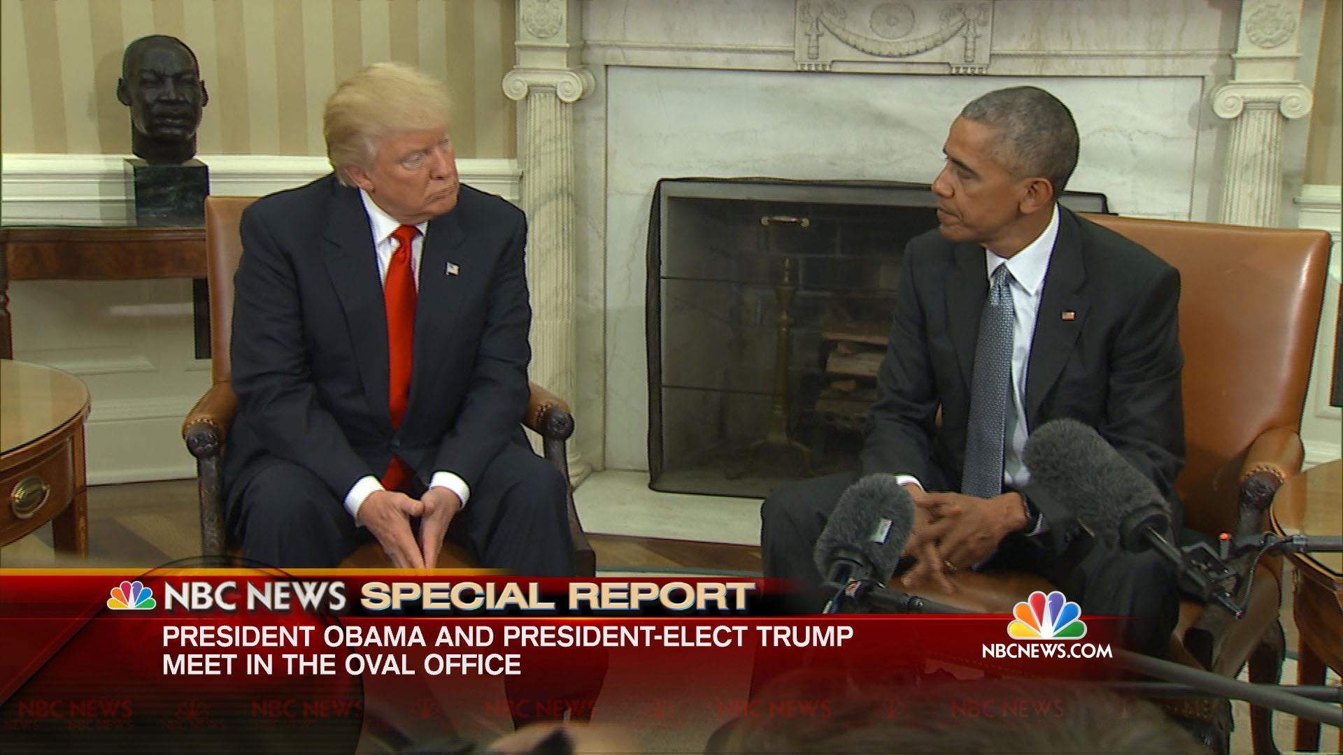 President Obama to President-Elect Trump: If You Succeed, Then the ...