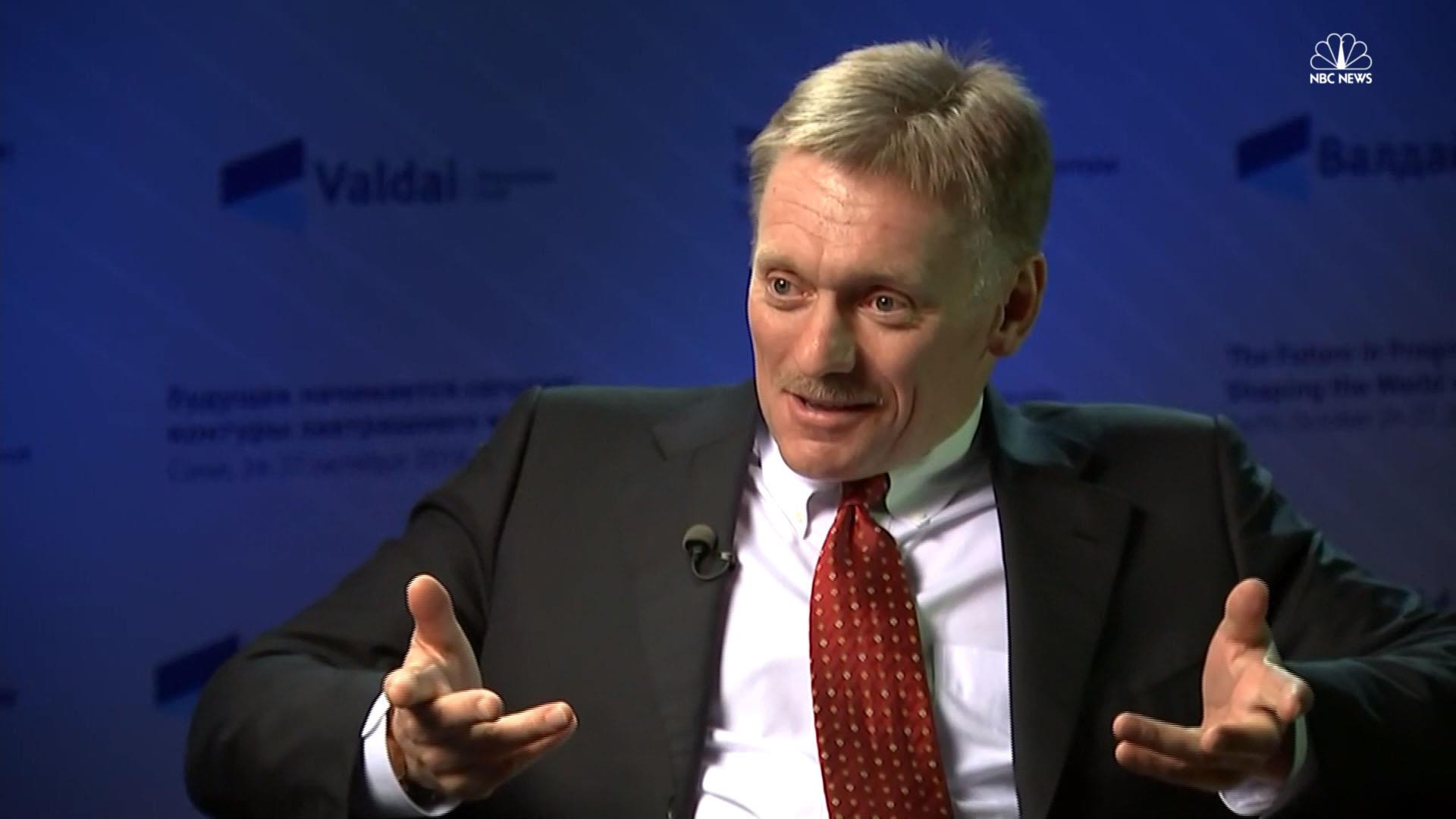 In Full: NBC News Exclusive Interview with Putin's Spokesman
