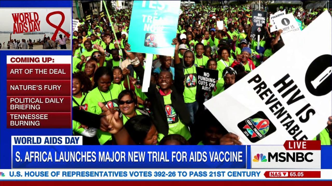 World AIDS Day: New vaccine could bring...