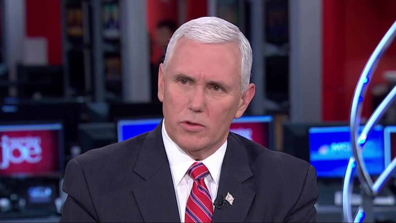 Pence: 'Everything on table' in trade...
