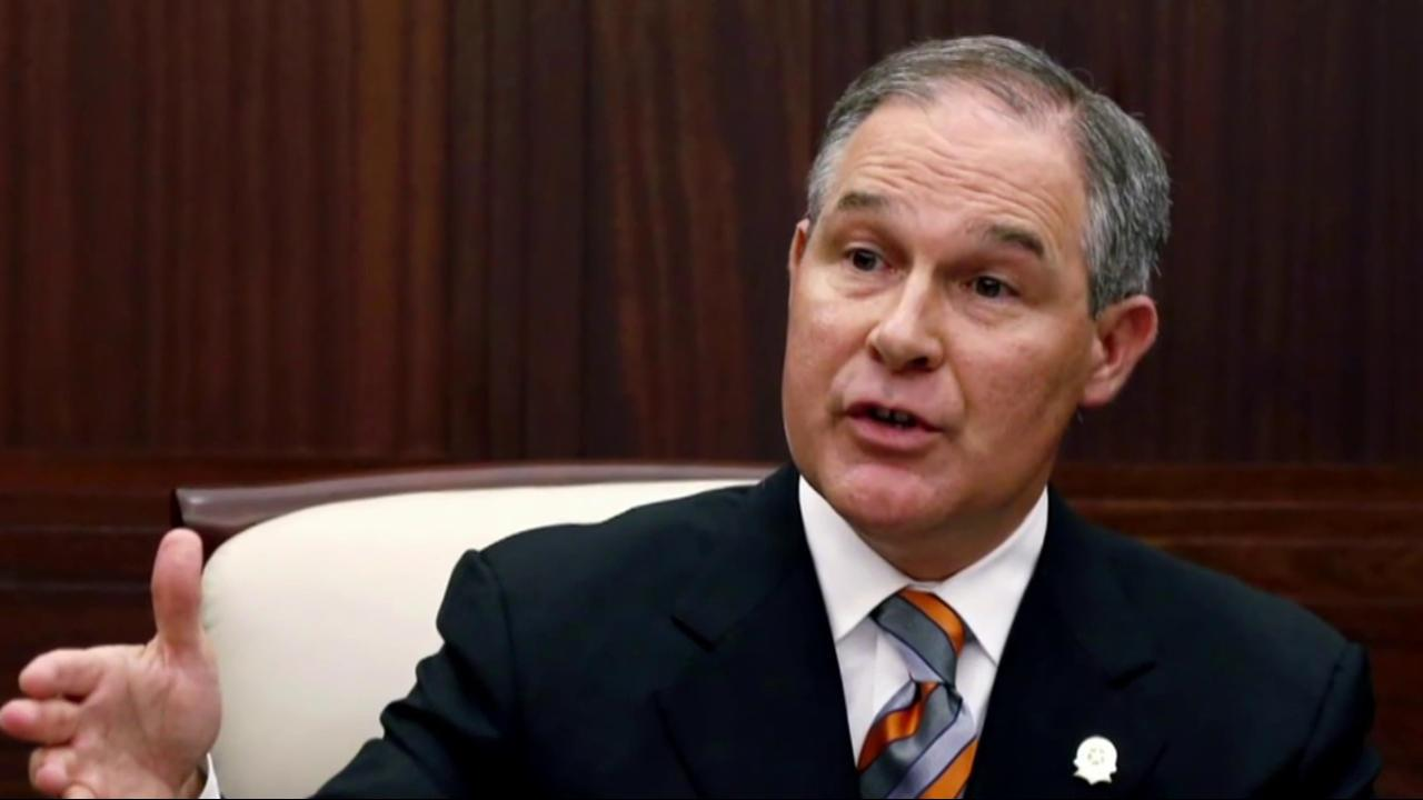 Outrage grows over Trump's pick for EPA head