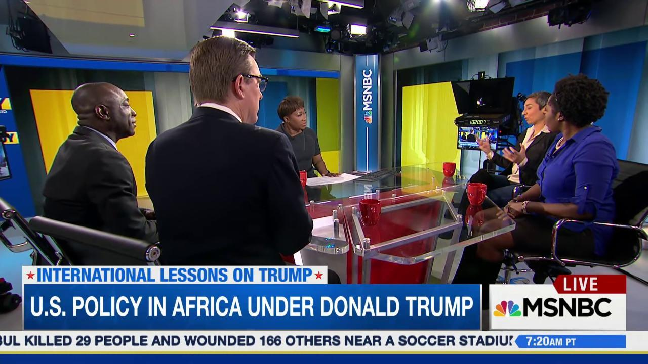 US policy in Africa under a Trump presidency