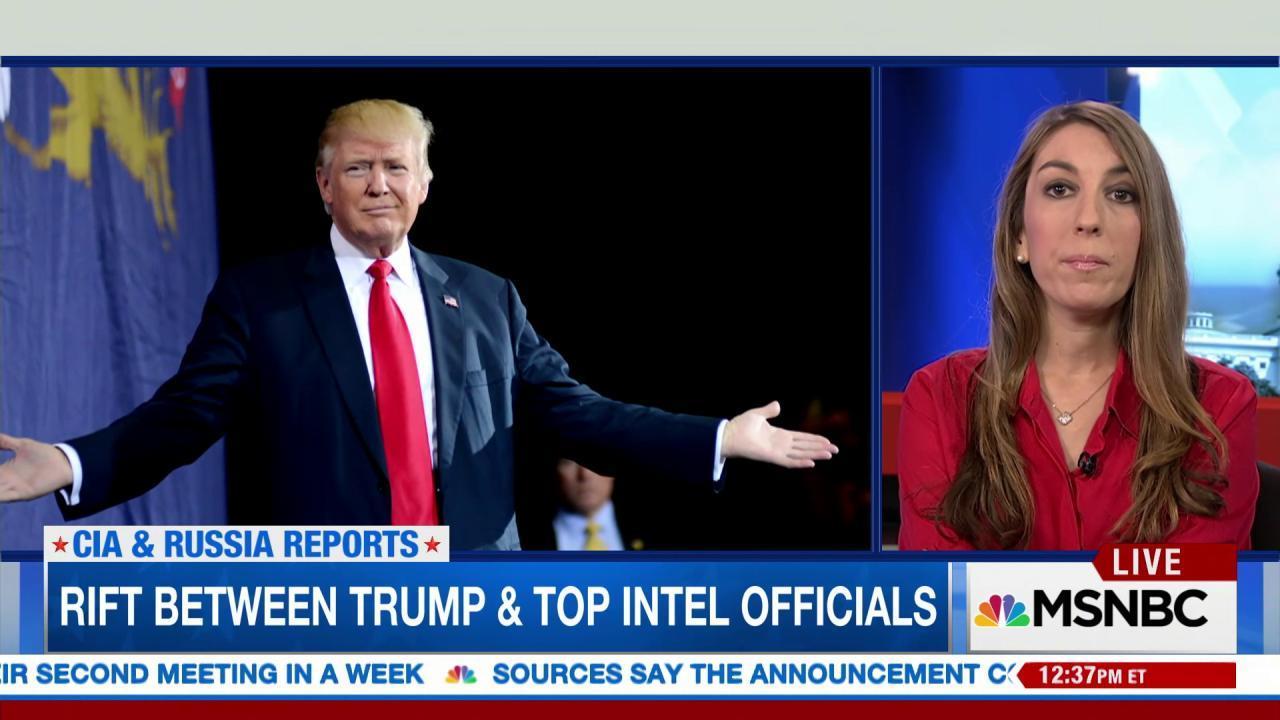 Trump draws rift with CIA over Russia...