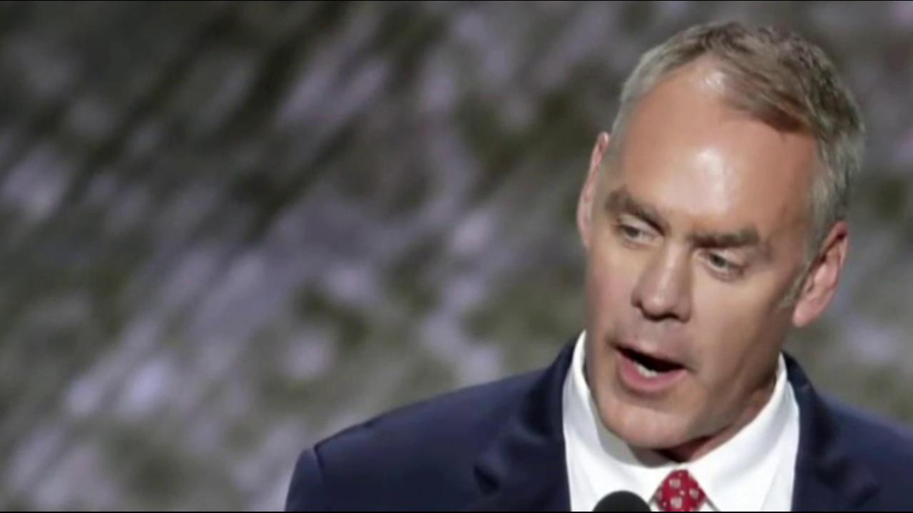 Source: Zinke receives nod to lead...