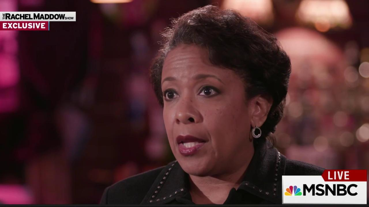 Lynch stresses local activism on hate crimes