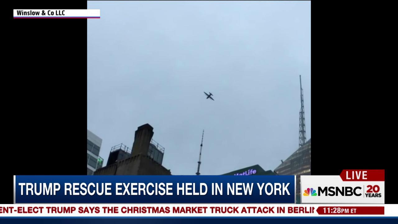 Officials confirm Trump-related rescue...