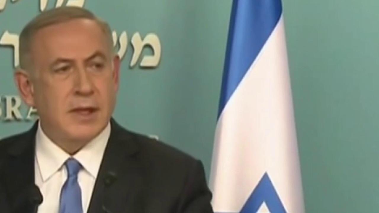 Netanyahu to Obama administration: 'Stop...