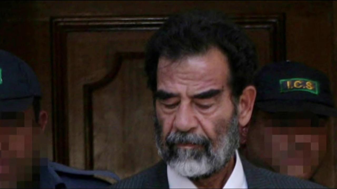 Inside the interrogation of Saddam Hussein