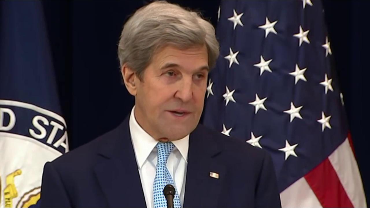 British Prime Minister condemns Kerry for...