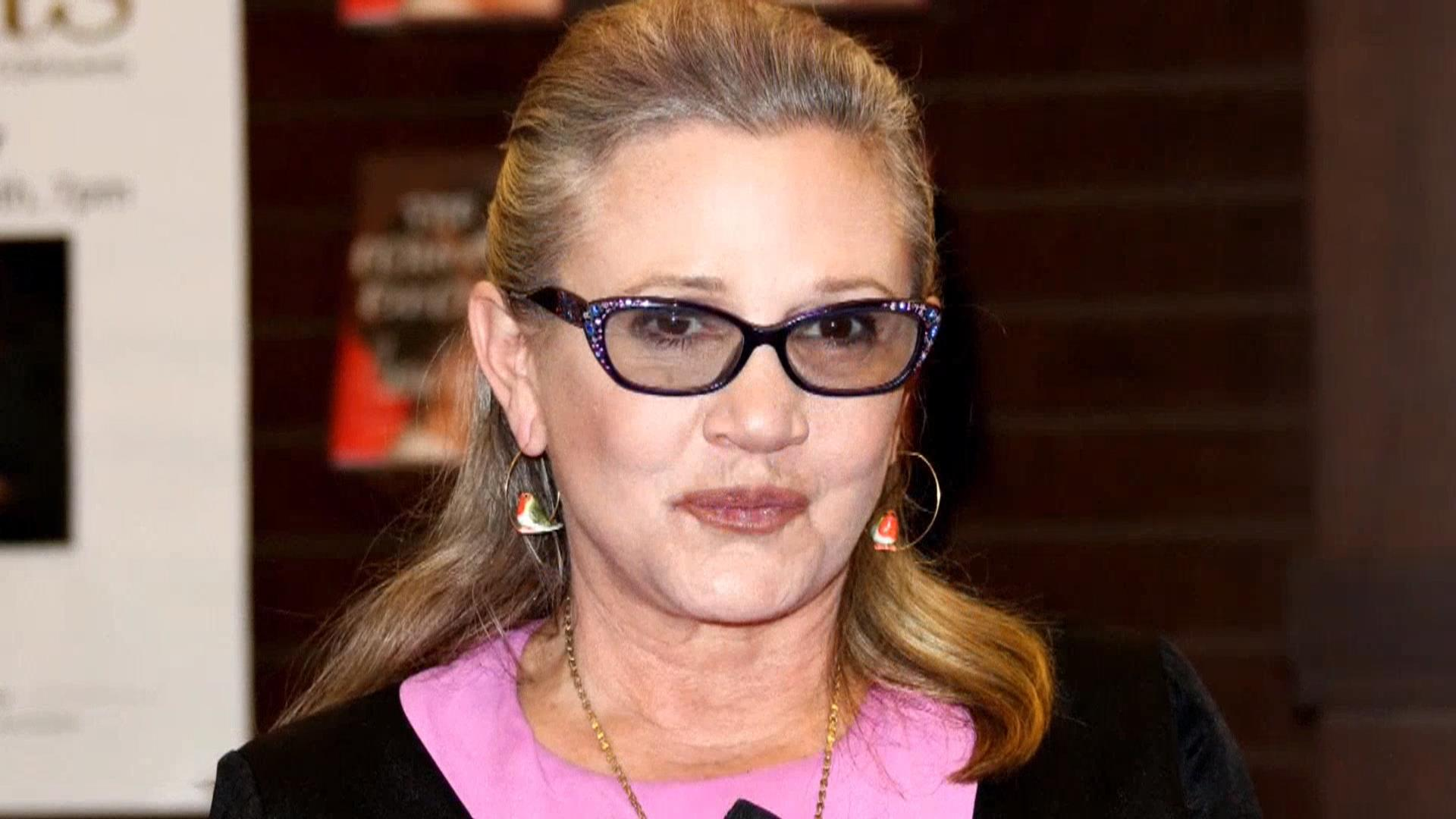 'star Wars' Actress Carrie Fisher Dies At 60 After Suffering Heart Attack   Nbc News