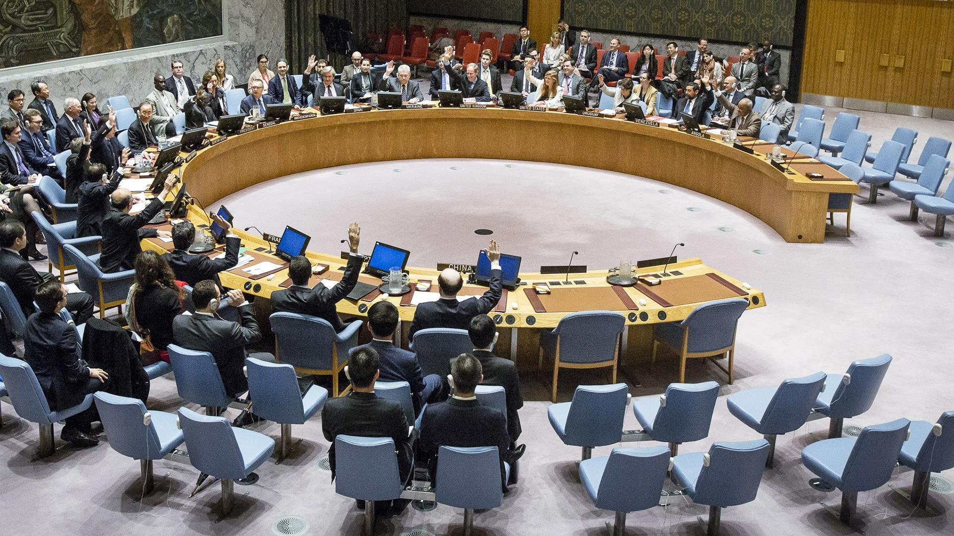 security council meeting Un security council to meet over syria strikes syria un council members of the security council gather for a meeting on syria on apr 13, 2018.