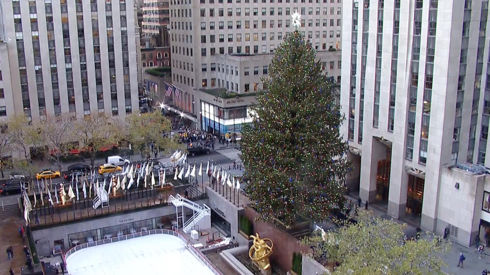 Address Rockefeller Center Christmas Tree