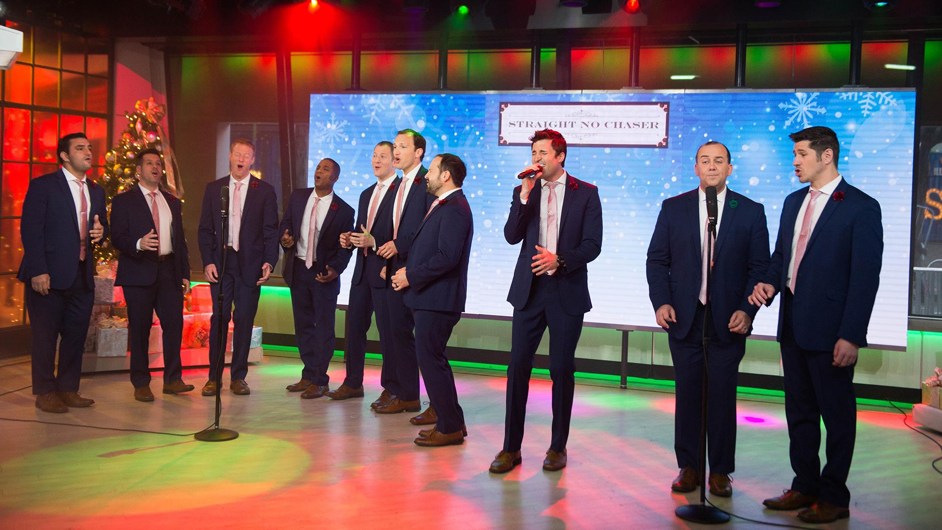 Straight No Chaser debuts adorable \'Feels Like Christmas\' video