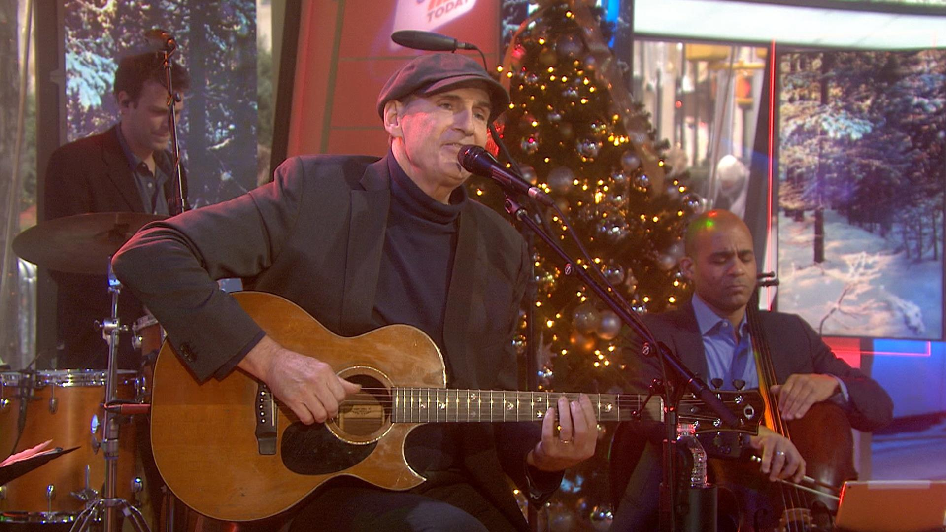 james taylor performs have yourself a merry little christmas on sunday today - James Taylor Have Yourself A Merry Little Christmas