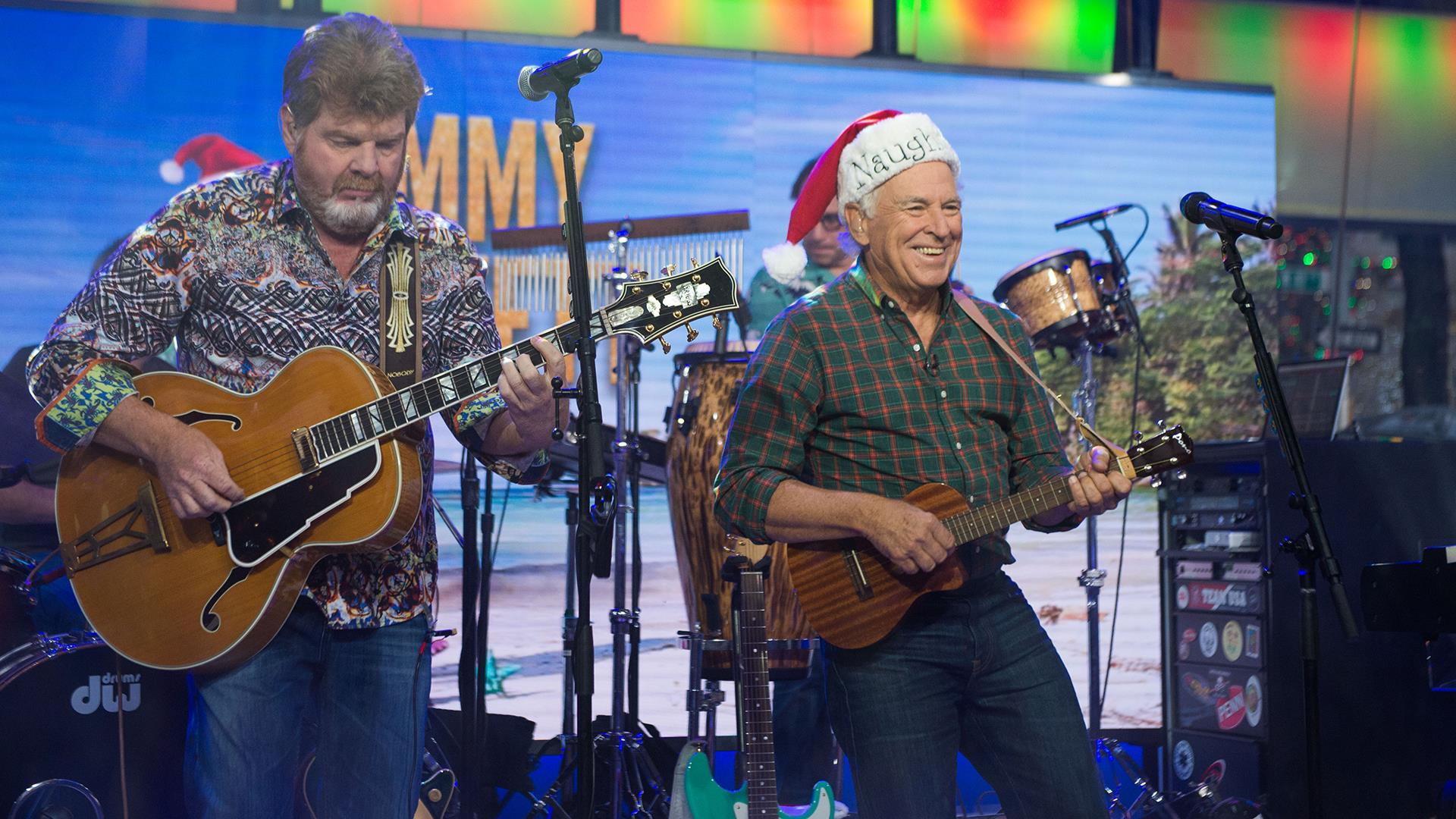 See Jimmy Buffett perform \'Santa Stole Thanksgiving\' live on TODAY