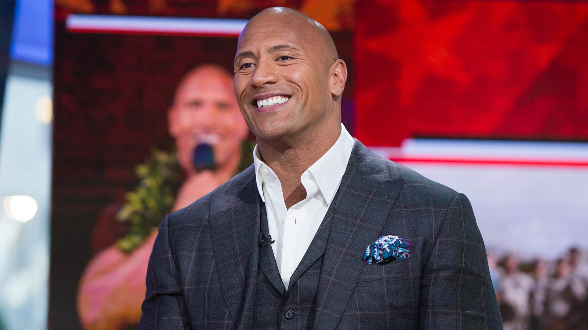 Dwayne Johnson talks about 'Baywatch' and his 'epic' tribute to troops