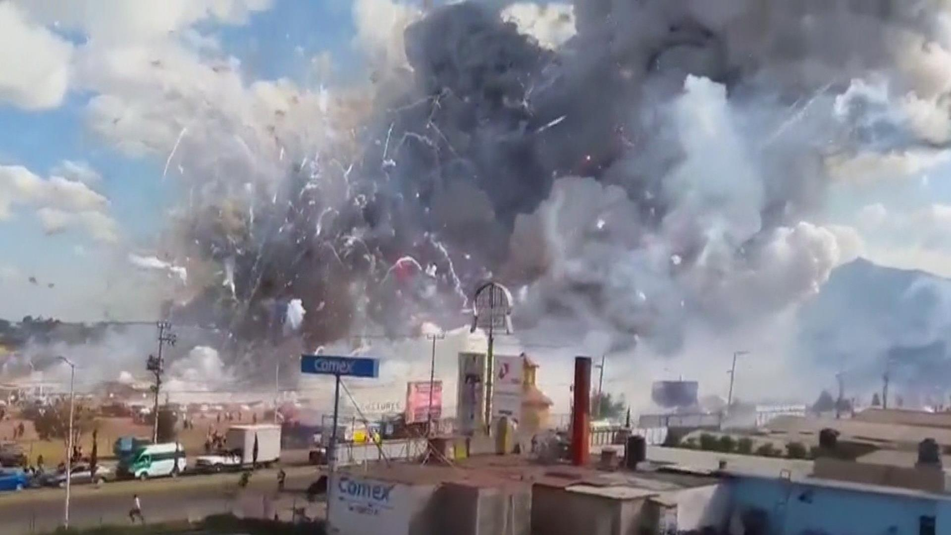 Mexico Fireworks Explosion At Least 31 Dead As Investigators Search For Cause