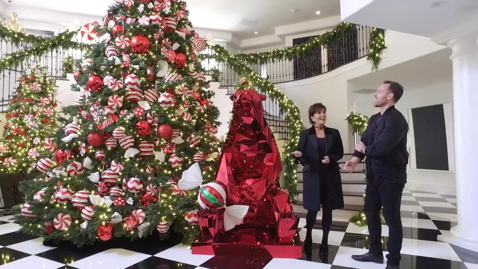 Kris Jenner Christmas Decorations 2016