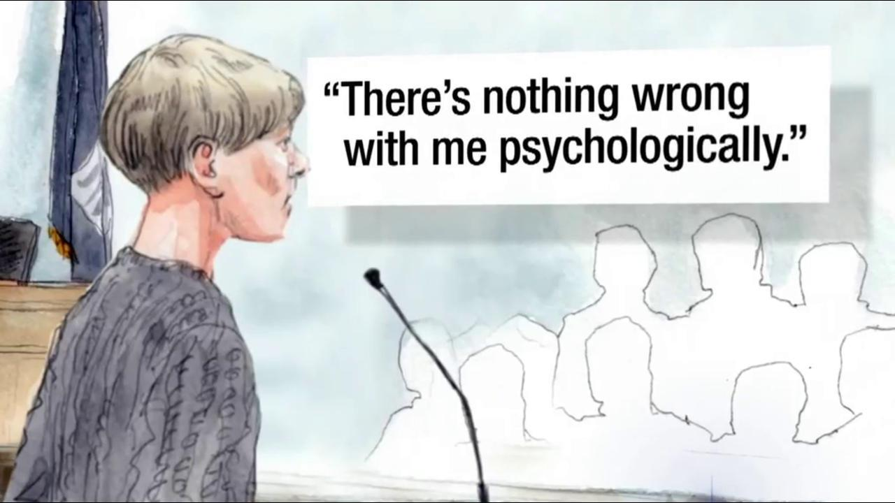Nothing Wrong With Me Psychologically Dylann Roof Tells