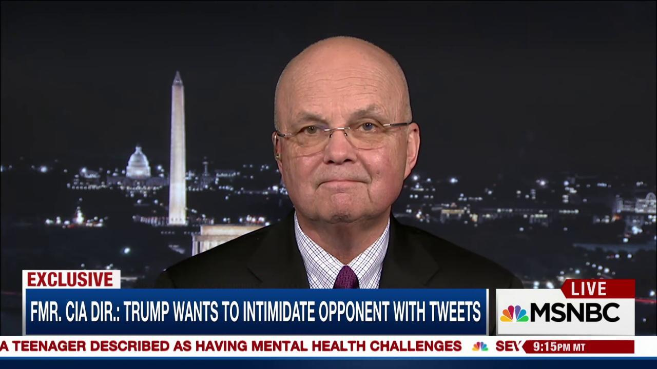 Fmr. CIA Director Hayden 'stunned' on...