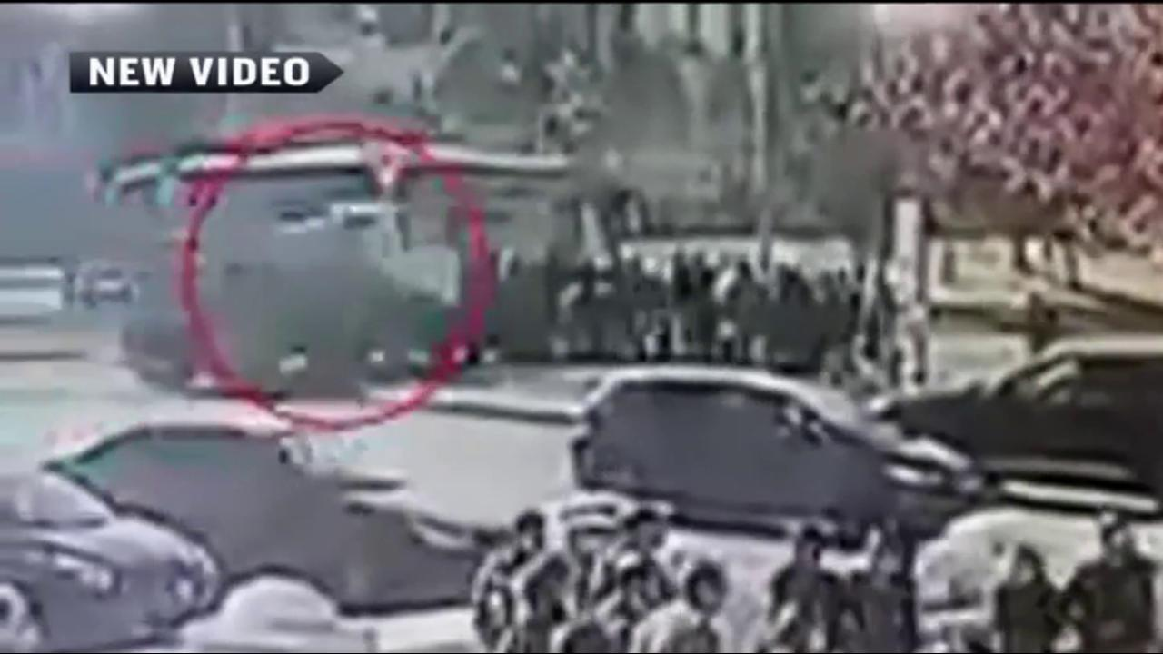 Video shows deadly truck attack in Jerusalem