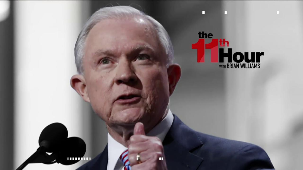 Sen. Blumenthal: Some Jeff Sessions...