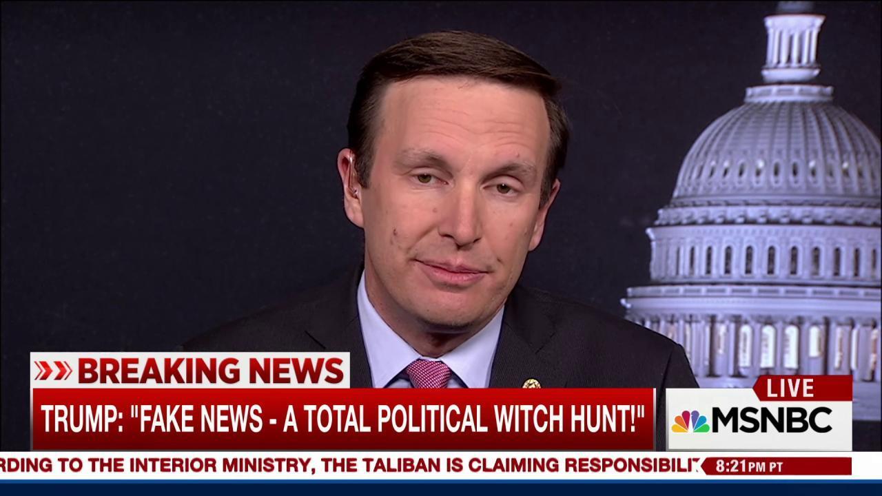 Dem senator: Why's Trump seeking an...