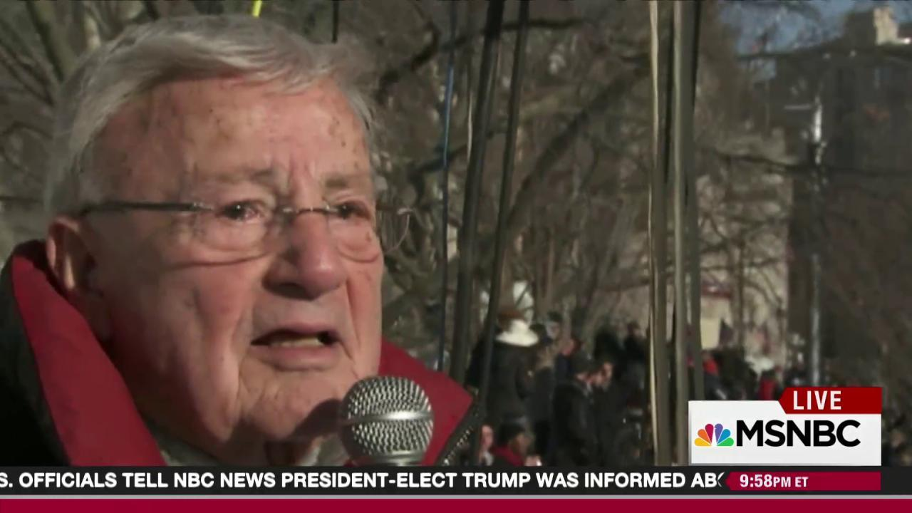 Fired announcer scores new inauguration gig