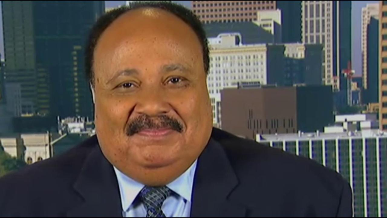 Martin Luther King III weighs in on Trump,...
