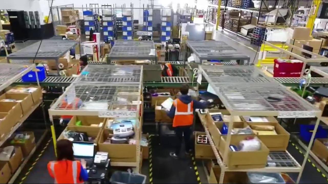 The Las Vegas Warehouse Where All Returned Online Purchases Go