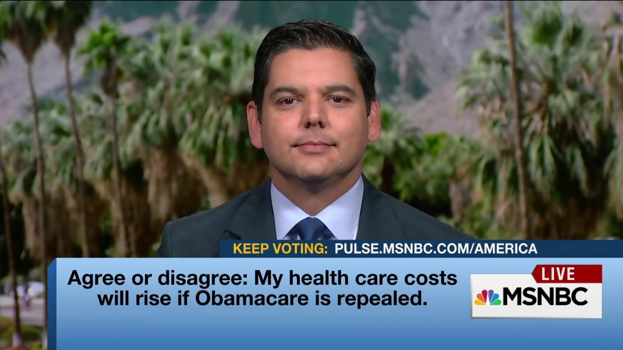 Dem Rep: We need to improve, not repeal, ACA