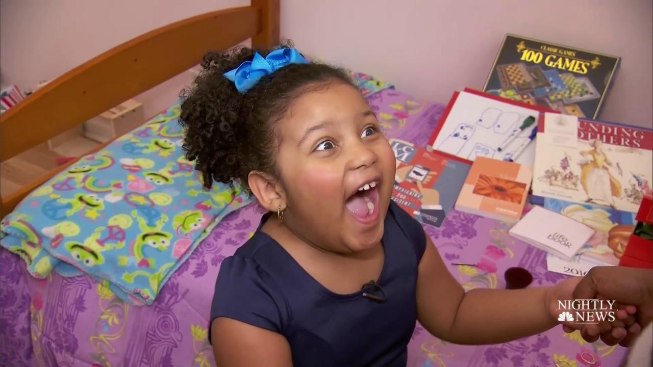 Inspiring America: Meet the 4-Year-Old Who's Read More Than 1,000 Books - NBC News
