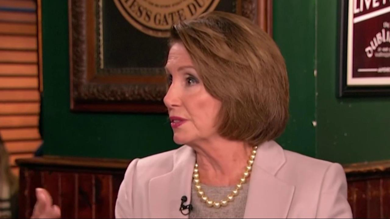 Pelosi: America can withstand Trump's...