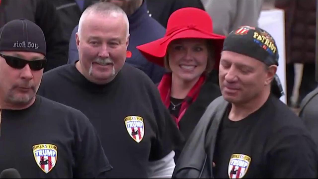 Trump supporters react to inauguration
