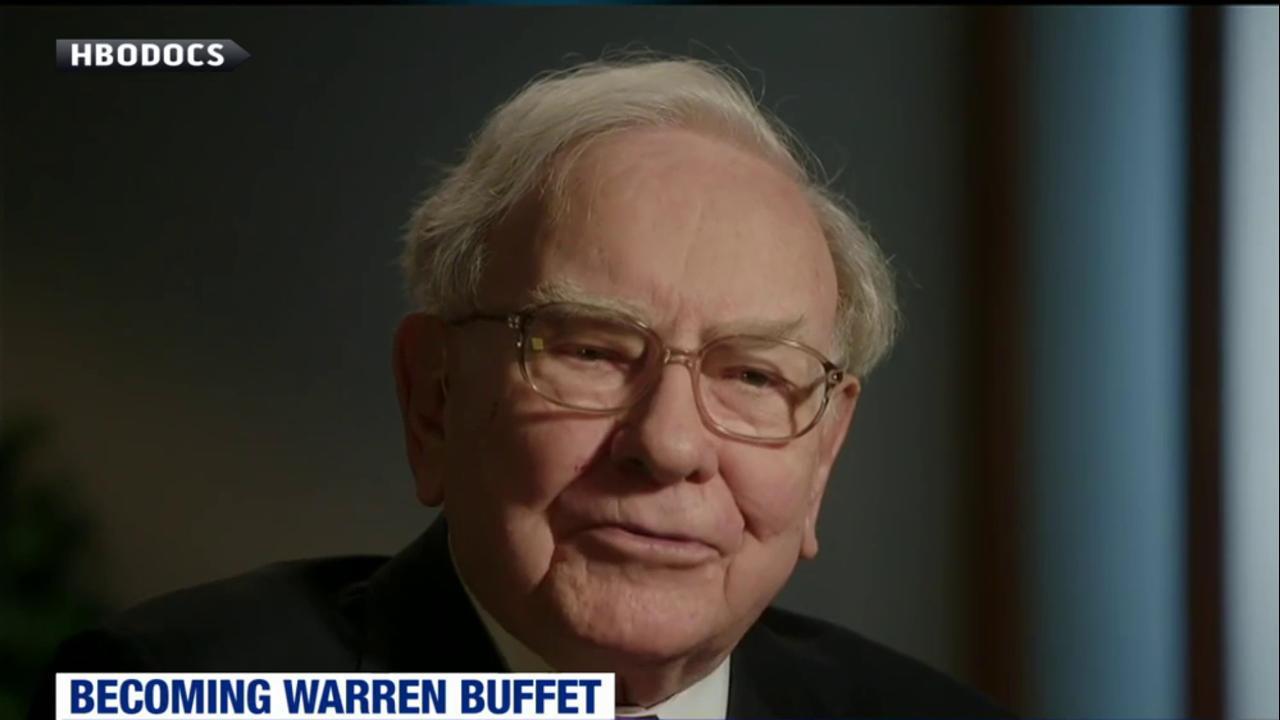 A documentary on Becoming Warren Buffet